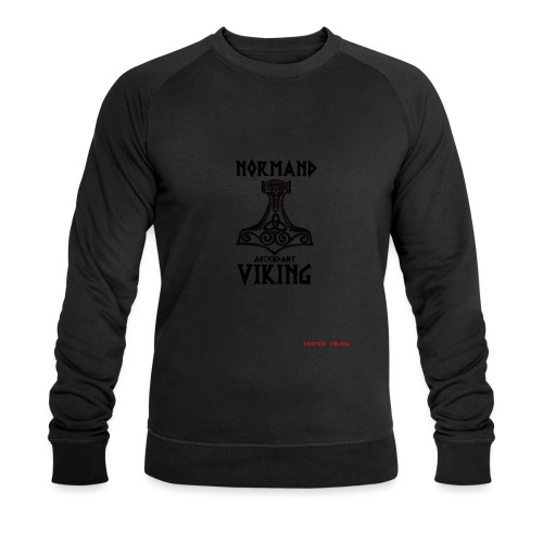 NOrmand_asc_VIkings-place - Sweat-shirt bio Stanley & Stella Homme