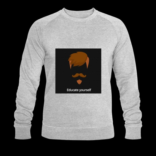 educate yourself - Men's Organic Sweatshirt by Stanley & Stella