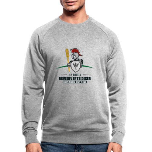 Revierverteidiger rot - Männer Bio-Sweatshirt