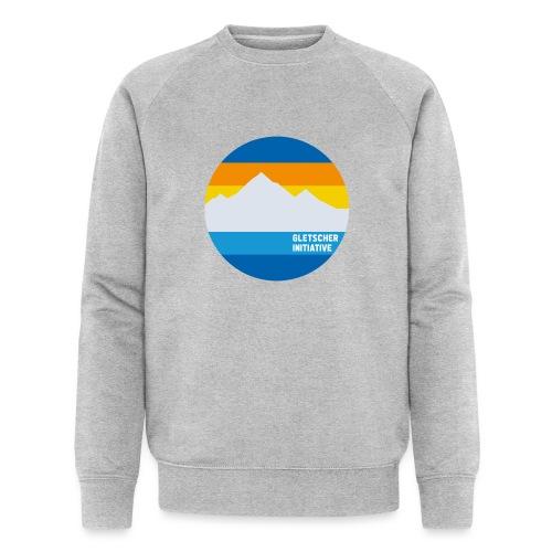 Gletscher-Initiative - Männer Bio-Sweatshirt