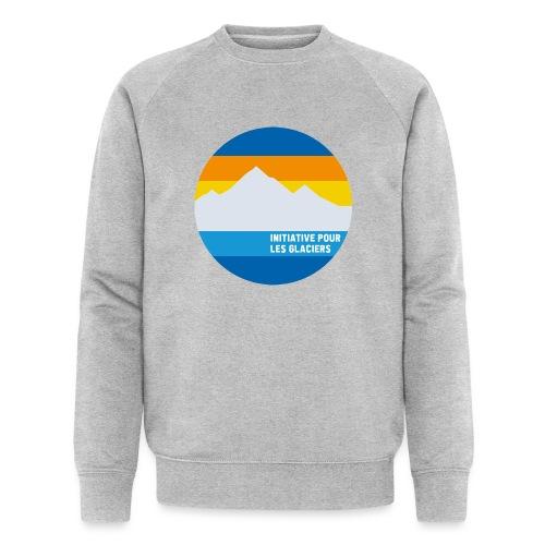 Initiative pour les glaciers - Männer Bio-Sweatshirt