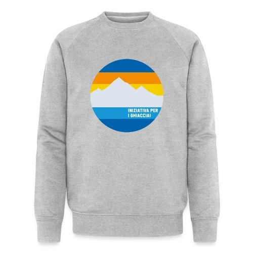 Iniziativa per i ghiacciai - Männer Bio-Sweatshirt
