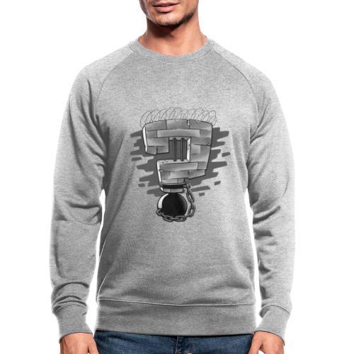 Warum Gefängnisse niemandem nützen - Männer Bio-Sweatshirt