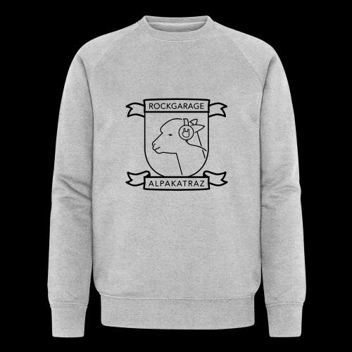 Rockgarage Alpakatraz - Männer Bio-Sweatshirt von Stanley & Stella