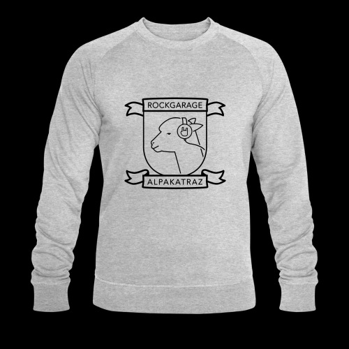 Rockgarage Alpakatraz - Männer Bio-Sweatshirt
