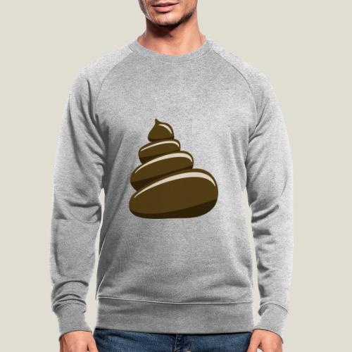 Bajskorv, Turd, Crap, Poop, Shit, Shite - Ekologisk sweatshirt herr