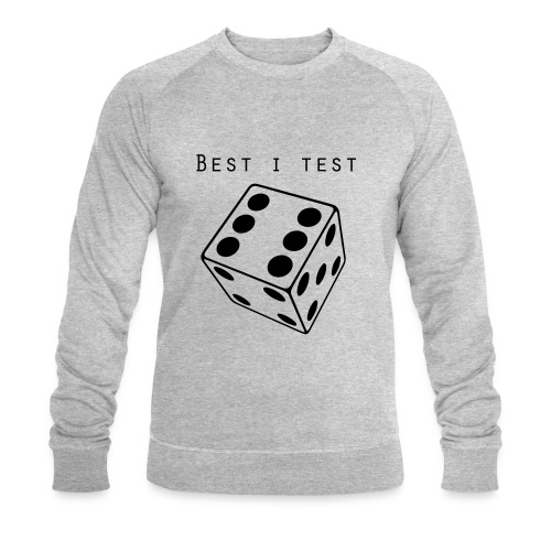 Best i test - Økologisk sweatshirt for menn
