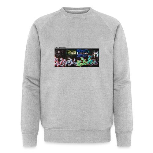 Stick Was Here 0.2 - Økologisk sweatshirt til herrer