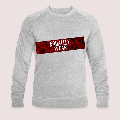 Equality Wear Long Rose Print Edition - Men's Organic Sweatshirt by Stanley & Stella