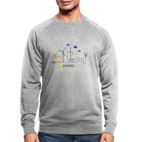 Erneuerbare Energien - Männer Bio-Sweatshirt