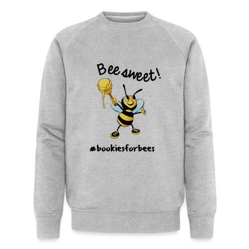 Bees7-1 Bienen sind süß | save the bees - Men's Organic Sweatshirt by Stanley & Stella