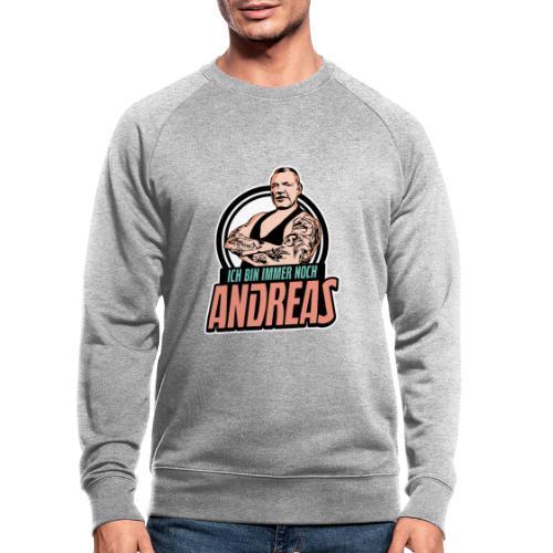 Immer-Noch-Andreas-Logo BUNT - Sudadera ecológica hombre