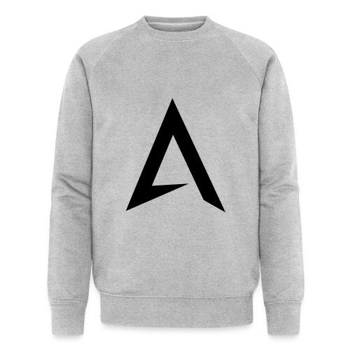 alpharock A logo - Men's Organic Sweatshirt