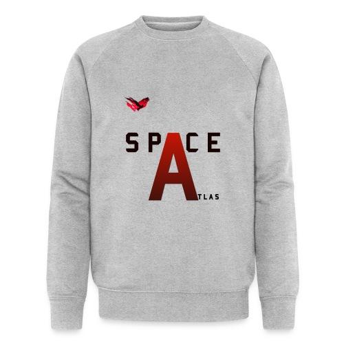 Space Atlas Baseball Long Sleeve Capital A - Økologisk Stanley & Stella sweatshirt til herrer