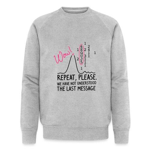 repeat please - Männer Bio-Sweatshirt von Stanley & Stella