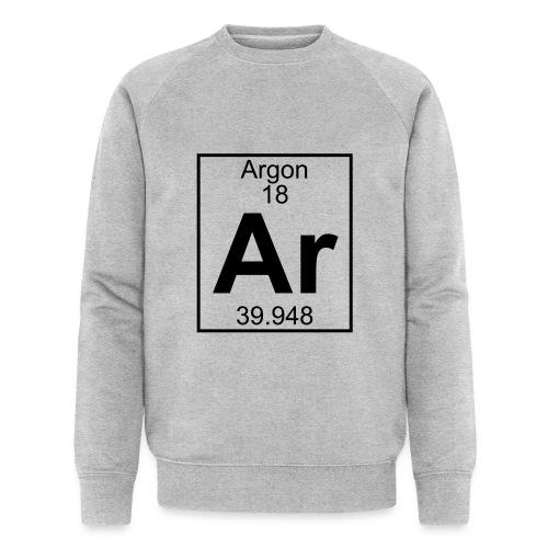 Argon (Ar) (element 18) - Men's Organic Sweatshirt by Stanley & Stella