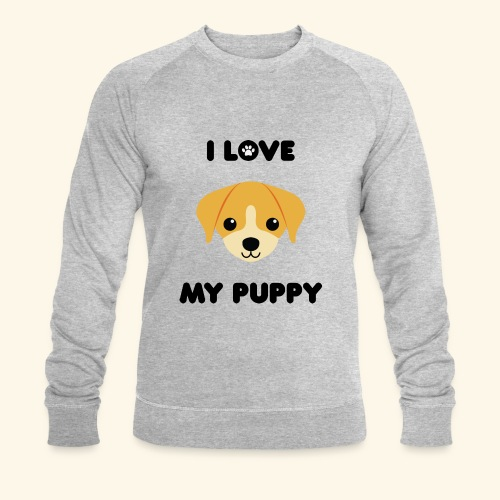 Love my puppy - Sweat-shirt bio Stanley & Stella Homme