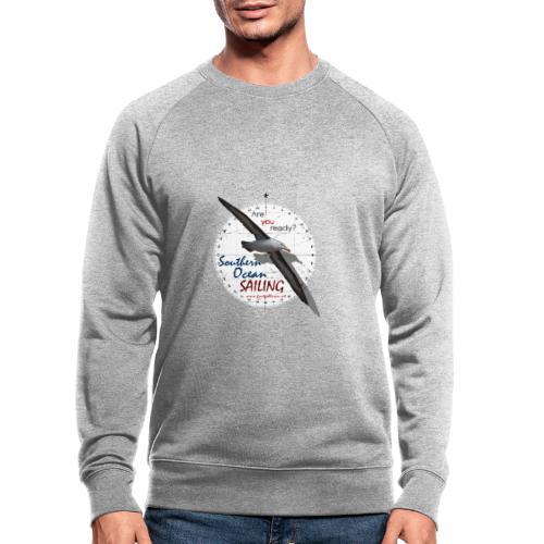 southern ocean sailing - Männer Bio-Sweatshirt