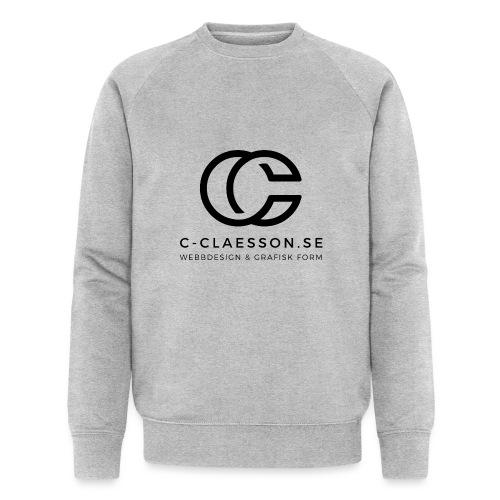 C-Claesson Webbdesign - Ekologisk sweatshirt herr från Stanley & Stella