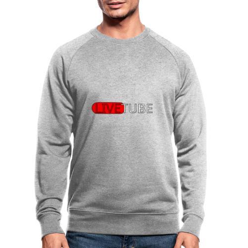 Livetube - Økologisk sweatshirt til herrer