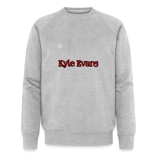 KYLE EVANS TEXT T-SHIRT - Men's Organic Sweatshirt