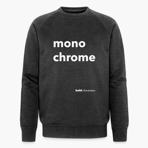 monochrome - Mannen bio sweatshirt van Stanley & Stella