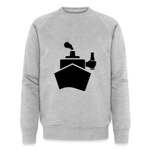 King of the boat - Männer Bio-Sweatshirt