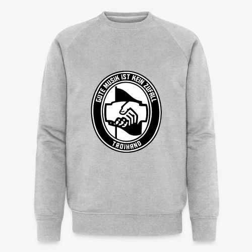 Logo Troihand - Männer Bio-Sweatshirt