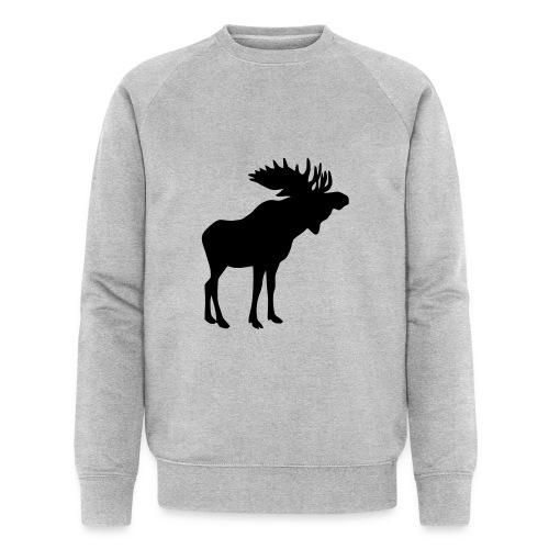 Stattlicher schwedischer Elch Älg Moose Schweden - Männer Bio-Sweatshirt von Stanley & Stella