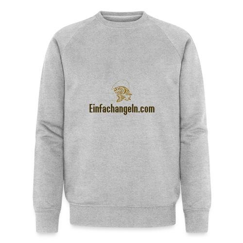 Einfachangeln Teamshirt - Männer Bio-Sweatshirt