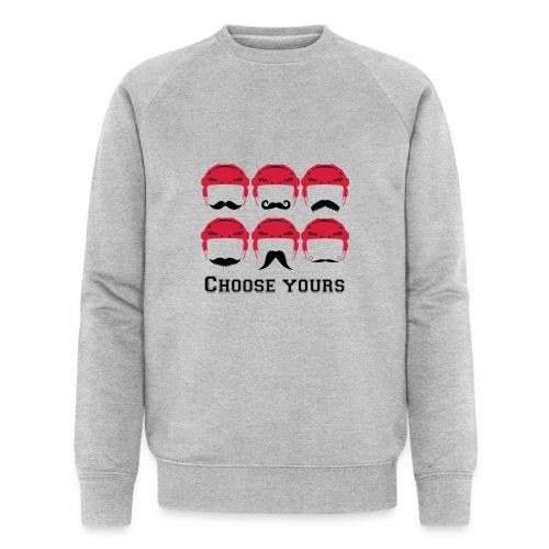 novembre et moustache - Sweat-shirt bio