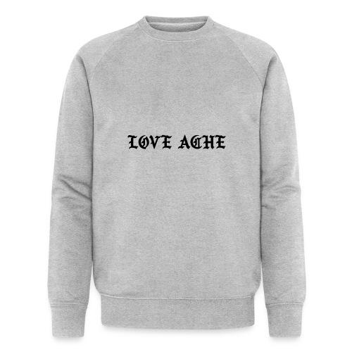 LOVE ACHE - Mannen bio sweatshirt