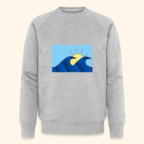 Espoir double wave - Men's Organic Sweatshirt by Stanley & Stella