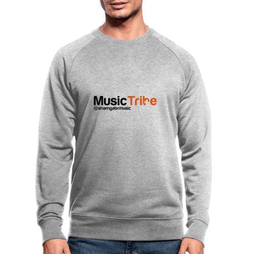 music tribe logo - Men's Organic Sweatshirt by Stanley & Stella