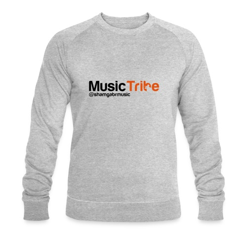 music tribe logo - Men's Organic Sweatshirt by Stanley & Stella