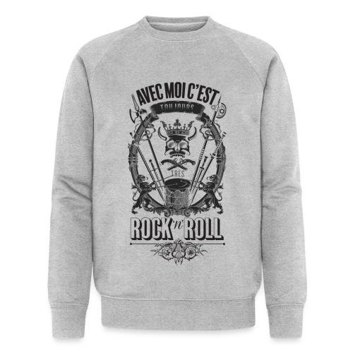 Rock'n'roll - Sweat-shirt bio Stanley & Stella Homme