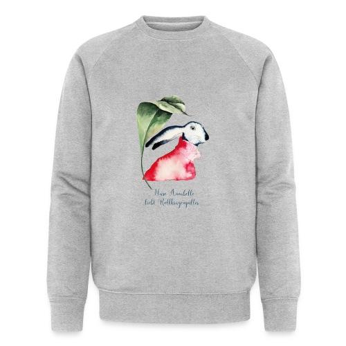 Annabel Osterhäsin - Männer Bio-Sweatshirt von Stanley & Stella