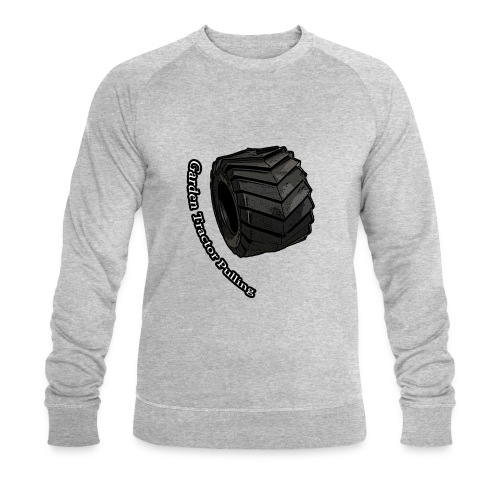 Børne Tractor pulling - Økologisk sweatshirt til herrer