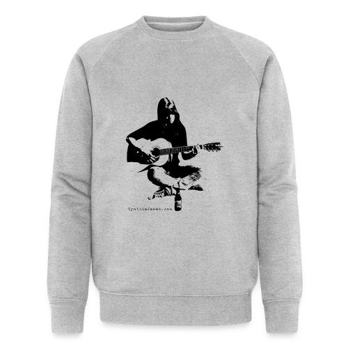 Cynthia Janes guitar BLACK - Men's Organic Sweatshirt by Stanley & Stella