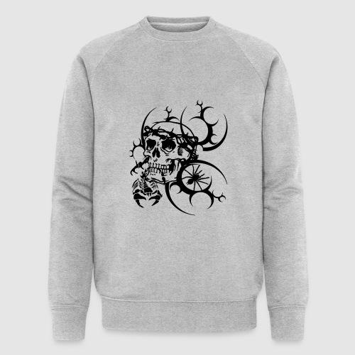 Tattoo Totenkopf - Männer Bio-Sweatshirt von Stanley & Stella