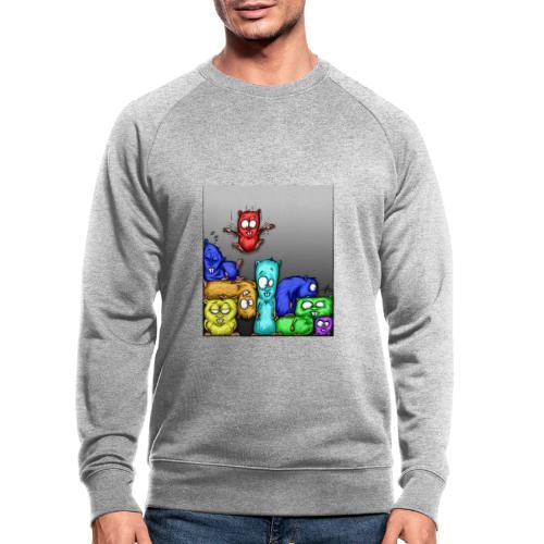 hamstris_farbe - Männer Bio-Sweatshirt