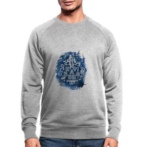 Hamburg_Ink.png - Männer Bio-Sweatshirt von Stanley & Stella