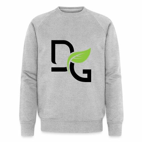 DrGreen Logo Symbol schwarz grün - Männer Bio-Sweatshirt von Stanley & Stella