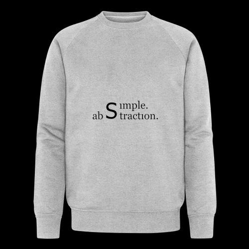 simple. abstraction. logo - Männer Bio-Sweatshirt von Stanley & Stella
