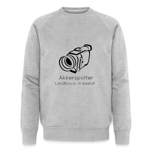 Logo akkerspotter - Mannen bio sweatshirt van Stanley & Stella