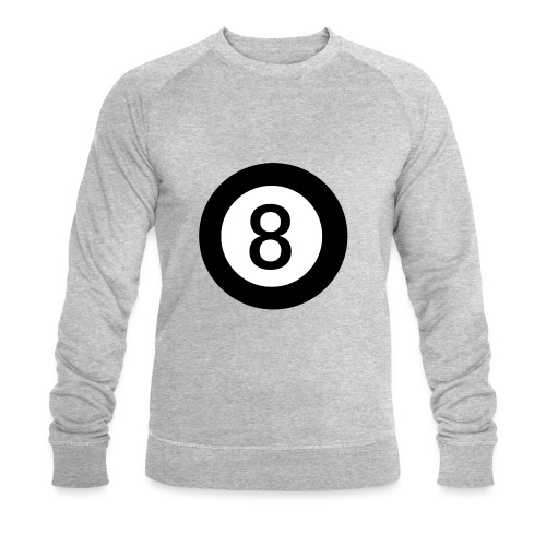 Black 8 - Men's Organic Sweatshirt by Stanley & Stella