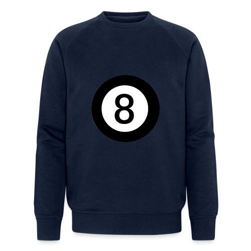 Black 8 - Men's Organic Sweatshirt by Stanley & Stella
