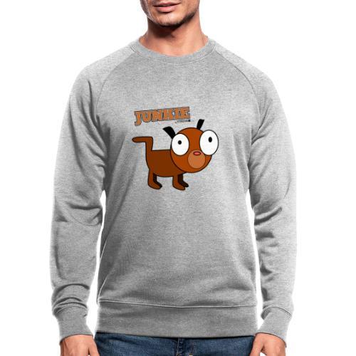 Junkie - Männer Bio-Sweatshirt