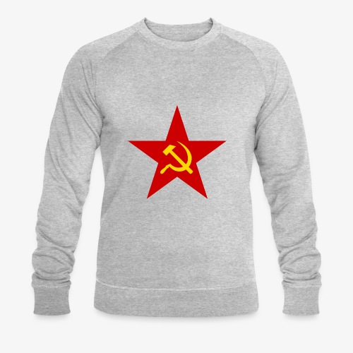 Communism Logo - Men's Organic Sweatshirt by Stanley & Stella