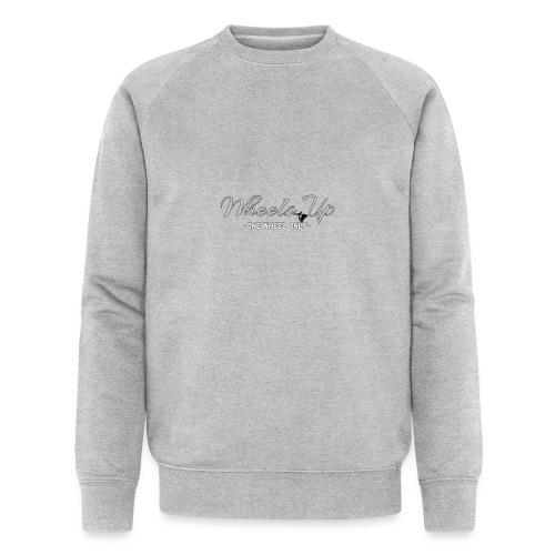 wheels up black figure - Men's Organic Sweatshirt by Stanley & Stella